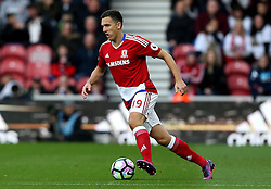 Stewart Downing of Middlesbrough runs with the ball - Mandatory by-line: Robbie Stephenson/JMP - 16/10/2016 - FOOTBALL - Riverside Stadium - Middlesbrough, England - Middlesbrough v Watford - Premier League