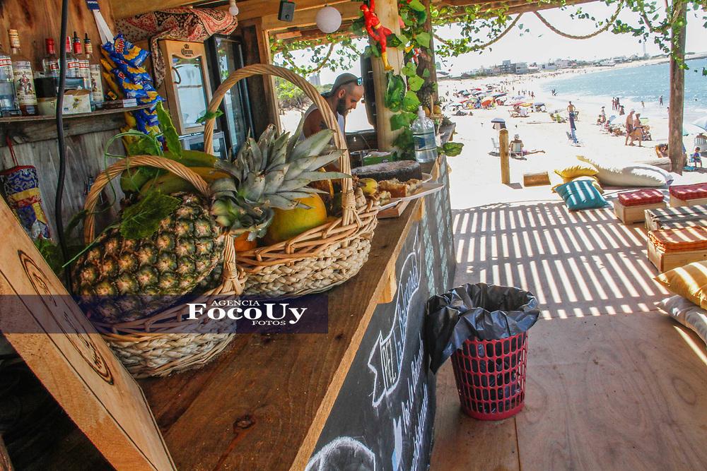 Rocha,  Uruguay. 11 de Enero de 2018.  <br /> Balneario La Paloma. Playa La Balconada.<br /> Parador PEZ<br /> Foto: Gast&oacute;n Britos / FocoUy