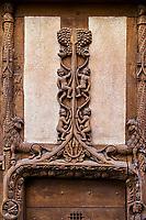 France, Bourgogne-Franche-Comté, Yonne (89), Sens, la maison à colombage dite d'Abraham // France, Burgundy, Yonne, Sens, old wooden house called Abraham