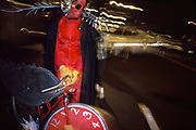 Red Man, Halloween, New York City, New York, October 1982