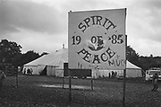 Spirit Of Peace & Muck, Glastonbury, 1985