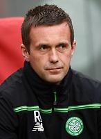 17/09/15 UEFA EUROPA LEAGUE GROUP STAGE<br /> AJAX v CELTIC<br /> AMSTERDAM ARENA - HOLLAND<br /> Celtic manager Ronny Deila