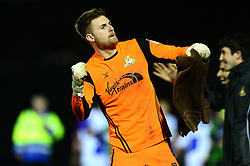 Ian Lawlor celebrates after beating Bristol Rovers 0-1 - Mandatory by-line: Dougie Allward/JMP - 23/12/2017 - FOOTBALL - Memorial Stadium - Bristol, England - Bristol Rovers v Doncaster Rovers - Skt Bet League One