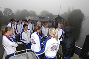 Henley, Great Britain, Leander Club, Athletes, Olympic celebration and open top bus tour of the town, on Sat 11.10.2008. [Mandatory Credit: Peter Spurrier]