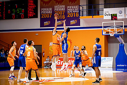 Obrad Tomic of KK Rogaska during basketball match between KK Helios Suns and KK Rogaska in ABA League Second division, on October 31, 2018 in Sports hall Domzale, Domzale, Slovenia. Photo by Urban Urbanc / Sportida