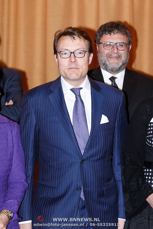 NLD/Amsterdam/20160315 - Uitreiking van de ECF Princess Margriet Award, Pr. Constantijn