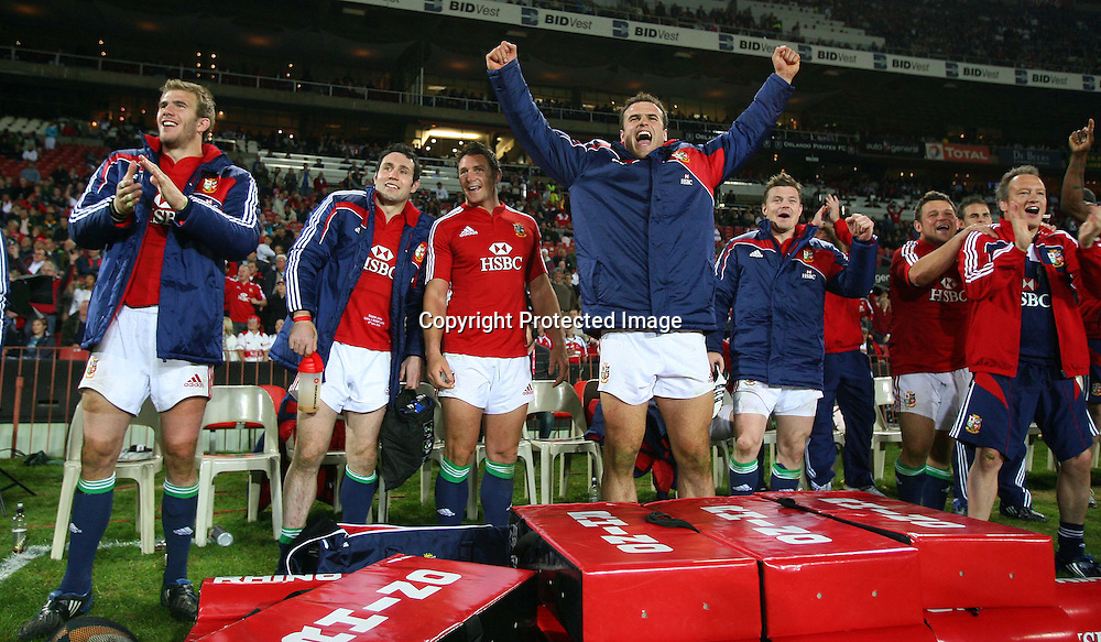 2009 British &amp; Irish Lions Tour, Coca Cola Park, Johannesburg, South Africa 3/6/2009.<br />