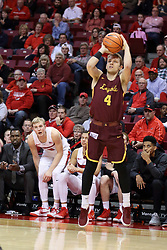 10 January 2018:  Bruno Skokna during a College mens basketball game between the Loyola Chicago Ramblers and Illinois State Redbirds in Redbird Arena, Normal IL