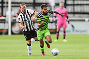 Forest Green Rovers Dominic Bernard(3) runs forward during the Pre-Season Friendly match between Bath City and Forest Green Rovers at Twerton Park, Bath, United Kingdom on 27 July 2019.