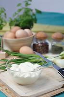 Mayonnaise in bowl - studio shot