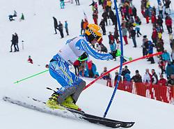 22.01.2012, Ganslernhang, Kitzbuehel, AUT, FIS Weltcup Ski Alpin, 72. Hahnenkammrennen, Herren, Slalom 1. Durchgang, im Bild Jens Byggmark (SWE) // Jens Byggmark of Sweden during Slalom race 1st run of 72th Hahnenkammrace of FIS Ski Alpine World Cup at 'Ganslernhang' course in Kitzbuhel, Austria on 2012/01/22. EXPA Pictures © 2012, PhotoCredit: EXPA/ Johann Groder
