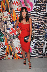 TAMARA MELLON at the launch of Project PEP to benefit the Elton John Aids Foundation hosted by Tamara Mellon and Diana Jenkins in association with Jimmy Choo held at Selfridges, Oxford Street, London on 29th October 2009.