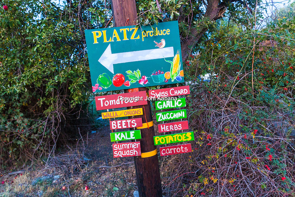 Platz Produce, Union, Oregon