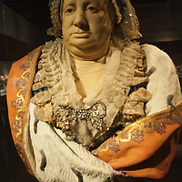 "VENICE, ITALY - MARCH 09:  A life size wax busts of Victoria of Savoy-Soissons, is seen at the press preview of ""Avere Una Bella Cera - Wax Portraits Exhibition"" at Palazzo Fortuny on March 9, 2012 in Venice, Italy.   The exhibition open until June 25 is the world's first exhibition on wax portraits analizing a field that has been studied very little by art historians."