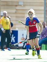 BILTHOVEN - Carlien Dirkse van den Heuvel van SCHC , zondag tijdens de hoofdklasse competitiewedstrijd tussen de vrouwen van SCHC en MOP (5-0). COPYRIGHT KOEN SUYK