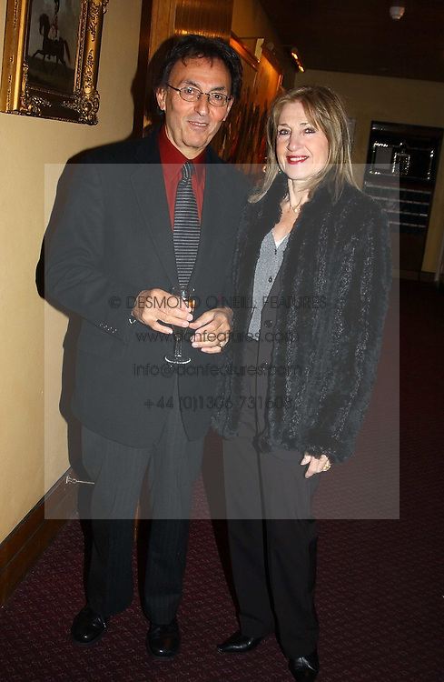 MR &amp; MRS DON BLACK he is the lyric writer at a reception to support The Hyde Park Appeal held in the Officers Mess, Household Cavalry Mounted Regiment, Hype Park Barracks, Knightsbridge, London SW1 on 30th November 2004.<br /><br />NON EXCLUSIVE - WORLD RIGHTS