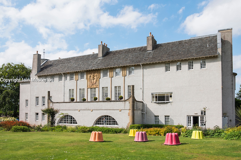 House for an Art Lover by Charles Rennie Mackintosh in Bellahouston Park Glasgow , United Kingdom