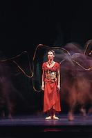 Royal Ballet Company in Natalia Makarova's La Bayadere. Mara Galeazzi as Gamzatti