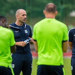 20180613: SLO, Football - Training of NK Olimpija Ljubljana with new coach, Ilija Stolica