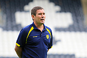 Burton Albion manager Nigel Clough during the EFL Sky Bet Championship match between Hull City and Burton Albion at the KCOM Stadium, Kingston upon Hull, England on 12 August 2017. Photo by Richard Holmes.
