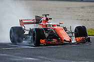 Stoffel Vandoorne during Formula One testing at Circuit de Catalunya, Barcelona<br /> Picture by EXPA Pictures/Focus Images Ltd 07814482222<br /> 02/03/2017<br /> *** UK &amp; IRELAND ONLY ***<br /> EXPA-EIB-170302-0471.jpg