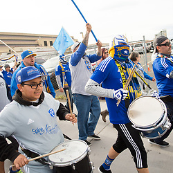 RENO, NV - APRIL 22: Images from Reno 1868 FC vs. Colorado Springs Switchbacks FC at Greater Nevada Field in Reno, Nev., Saturday, April 22, 2017.<br /> <br /> (Photo by David Calvert/Reno 1868 FC)