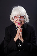 Legendary actress Carol Channing : San Francisco, California