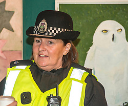 Pictured: Superintendent Lesley Clark<br /> Superintendent Lesley Clark discussed key safety messages being promoted during the operation over the period of the Edinburgh Festival, and unveiled this year's Operation Summer City mascot, Amanda the Panda<br /> Ger Harley | EEm 2 August  2017