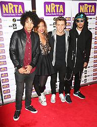 © Licensed to London News Pictures. 16/09/2013, UK. , Luminites, National Reality TV Awards, HMV Forum, London UK, 16 September 2013,. Photo credit : Richard Goldschmidt/Piqtured/LNP