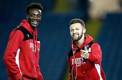 Tammy Abraham and Matty Taylor of Bristol City - Mandatory by-line: Robbie Stephenson/JMP - 14/02/2017 - FOOTBALL - Elland Road - Leeds, England - Leeds United v Bristol City - Sky Bet Championship