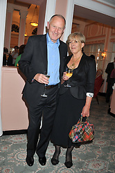 RUPERT & CANDIDA LYCETTE-GREEN at the 20th anniversary reception for The Oldie Magazine held at Simpsons in The Strand, London on 19th July 2012.