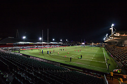 A general view of Rodney Parade, home of the Dragons - Mandatory by-line: Craig Thomas/JMP - 02/02/2018 - RUGBY - Rodney Parade - Newport, Gwent, Wales - Dragons v Worcester Warriors - Anglo Welsh Cup