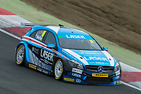 #16 Aiden Moffat Laser Tools Racing Ciceley Motorsport  Mercedes-Benz A-Class  during BTCC Practice  as part of the BTCC Championship at Brands Hatch, Fawkham, Longfield, Kent, United Kingdom. September 30 2017. World Copyright Peter Taylor/PSP.