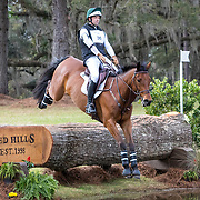 William Coleman III (USA) and TKS Cooley at the Red Hills International Horse Trials in Tallahassee, Florida.