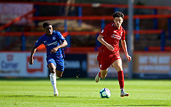 LONDON, ENGLAND - Saturday, September 29, 2018: Liverpool's Curtis Jones during the Under-23 FA Premier League 2 Division 1 match between Chelsea FC and Liverpool FC at The Recreation Ground. (Pic by David Rawcliffe/Propaganda)