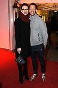 Premiere van de muziekkomedie Little Voice in het oude Luxor Theater, Rotterdam.<br /> <br /> Op de foto: <br /> <br />  Renée van Wegberg en Dennis ten Vergert