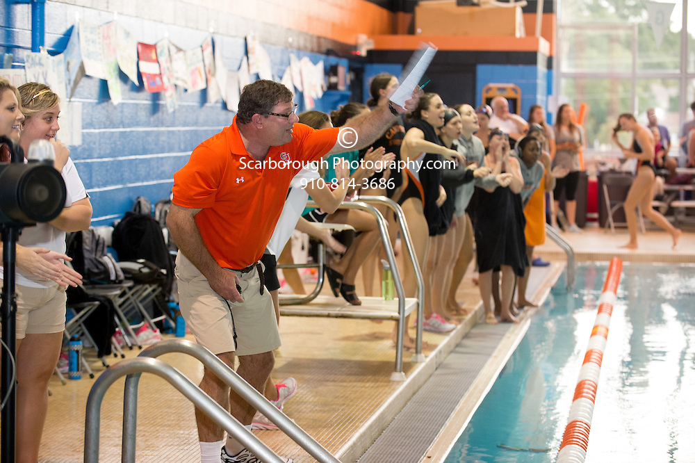 2014 Campbell University Swim Team vs Liberty