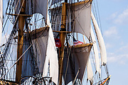 Picton Castle, at the Sail Boston tall ship event.