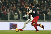 20.12.2017 - Torino - Tim Cup - Coppa Italia   -  Juventus-Genoa nella  foto: Gonzalo Higuain segna il gol del 2 a 0