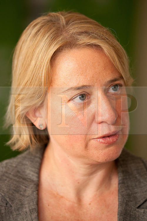 © Licensed to London News Pictures. 03/09/2012. LONDON, UK. Former journalist Natalie Bennett is seen after the announcement of her election to lead the Green Party in London today (03/09/12). Bennet, former editor of the Guardian Weekly, takes over from Caroline Lucas, who was elected as the Green Party's first MP in 2010. Photo credit: Matt Cetti-Roberts/LNP