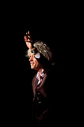 © Licensed to London News Pictures. 24/07/2014. Musician and Campaigner Sir Bob Geldof thanks the crowd after speaing during a session of the 20th International AIDS conference held in Melbourne Australia. Photo credit : Asanka Brendon Ratnayake/LNP