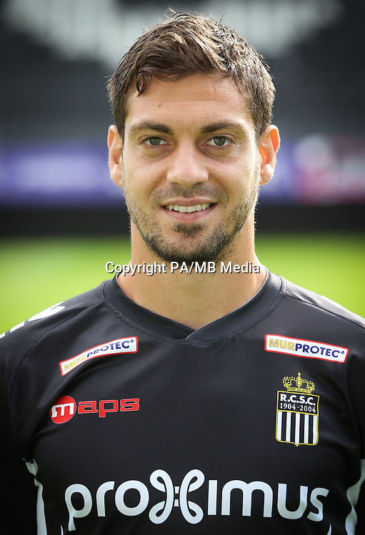 Charleroi's Francisco Javier Martos pictured during the 2015-2016 season photo shoot of Belgian first league soccer team Sporting de Charleroi, Tuesday 14 July 2015 in Charleroi.