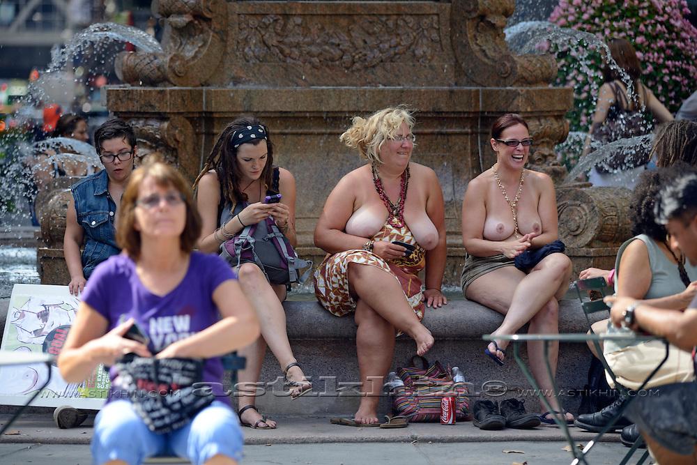 "International ""Go-Topless Day""."
