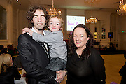 "In hotel Meyrick was Karl and Edel Clews and son Calvin from Kilcolgan at the launch of  ""Tiny Dancer""  A Song for Lily-Mae aims to be the Christmas No.1 for.2012, if you wish to help to achieve this goal, go to iTunes and.download the song during the week beginning the 14th of December or buy the CD wherever you see it on sale. The Christmas No.1 will be.announced on Friday, 21st of December.""Picture:Andrew Downes..Photo issued with compliments, no reproduction fee."