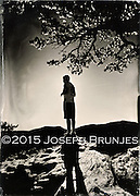 Hiker Silhouette<br />