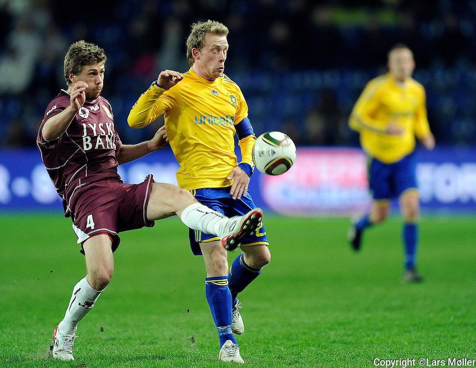 DK:<br /> 20100415, Br&oslash;ndby, Danmark:<br /> SAS Liga Br&oslash;ndby-FC Nordsj&aelig;lland: <br /> Henrik Kildentoft, FC Nordsj&aelig;lland, FCN., Michael Krohn-Dehli, BIF Br&oslash;ndby.<br /> Foto: Lars M&oslash;ller<br /> UK: <br /> 20100415, Brondby, Denmark:<br /> SAS League Br&oslash;ndby-FC Nordsj&aelig;lland: <br /> Henrik Kildentoft, FC Nordsj&aelig;lland, FCN., Michael Krohn-Dehli, BIF Br&oslash;ndby.<br /> Photo: Lars Moeller