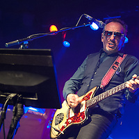 Elvis Costello in concert at The Barrowlands Ballroom, Glasgow, Scotland, Britain, 13th July 2016