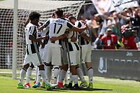 21.05.2017 - Torino - Serie A 2016/17 - 37a giornata  -  Juventus-Crotone nella  foto:l'esultanza dei giocatori della Juventus dopo il gol dell' 2 a 0