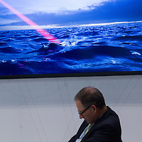 June 12 ,2017,Tokyo, Mast Asia  Maritime system and Technologies for securities and Safety , Maste trade show attendee, developping missile system , since north Korean  crisis, maritime  defence  sector and  industries  growth, and  maritime defence ,allies  collaborate together  to counter ennemies threats   . Pierre Boutier