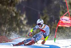 02.03.2020, Hannes Trinkl Weltcupstrecke, Hinterstoder, AUT, FIS Weltcup Ski Alpin, Riesenslalom, Herren, 1. Lauf, im Bild Lucas Braathen (NOR) // Lucas Braathen of Norway in action during 1st run of men's Giant Slalom of FIS ski alpine world cup at the Hannes Trinkl Weltcupstrecke in Hinterstoder, Austria on 2020/03/02. EXPA Pictures © 2020, PhotoCredit: EXPA/ Johann Groder
